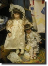 Just two of our antique dolls